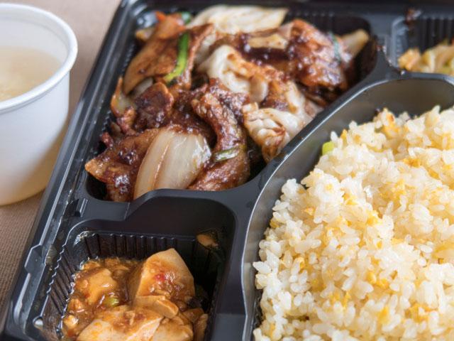 高輪台駅近くにある車で弁当を買いやすい中華料理店