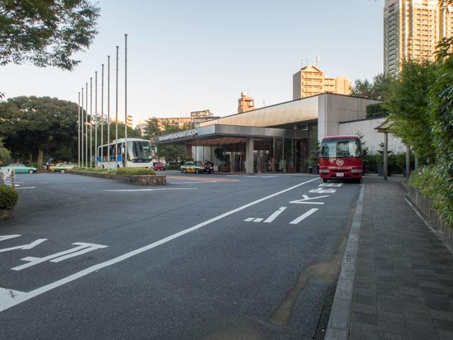 シェラトン都ホテル東京の玄関