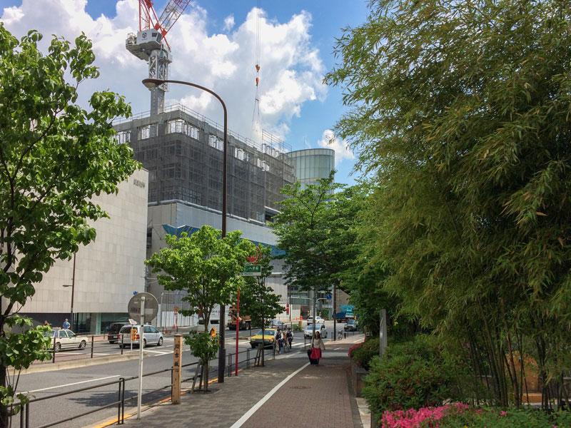ザ・パークハウス 白金二丁目タワーの様子2017年5月27日