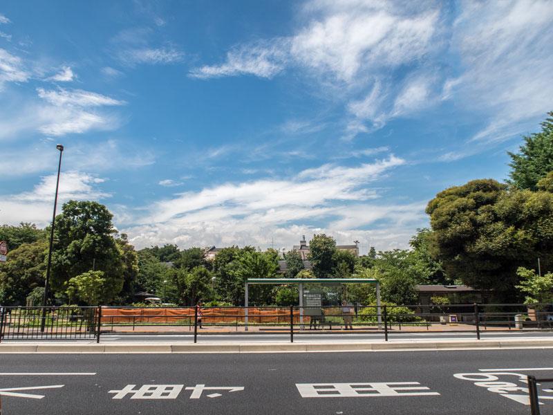 東京都港区白金台5丁目の風景