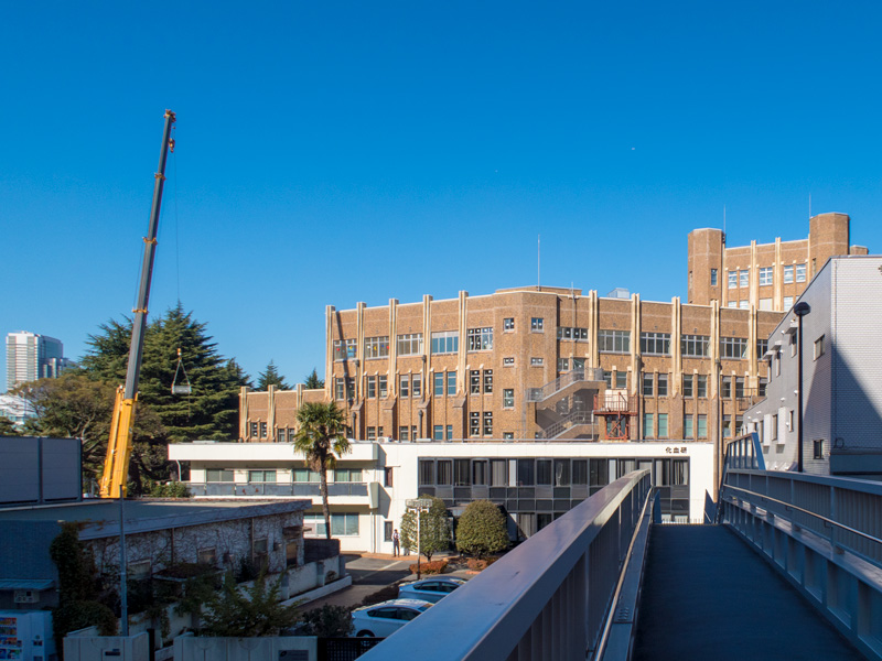 改修中の旧国立公衆衛生院
