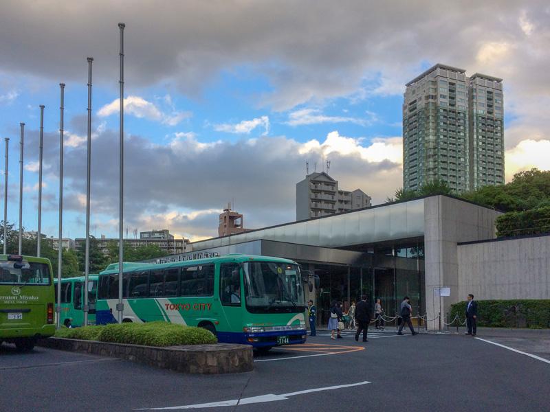 2018年5月のGINZAセール開催中の都ホテル東京の様子