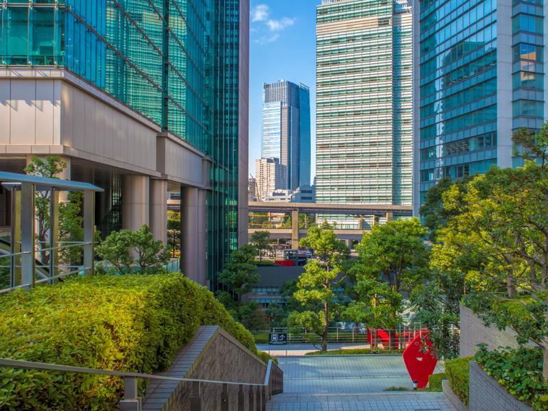 六本木一丁目駅の風景