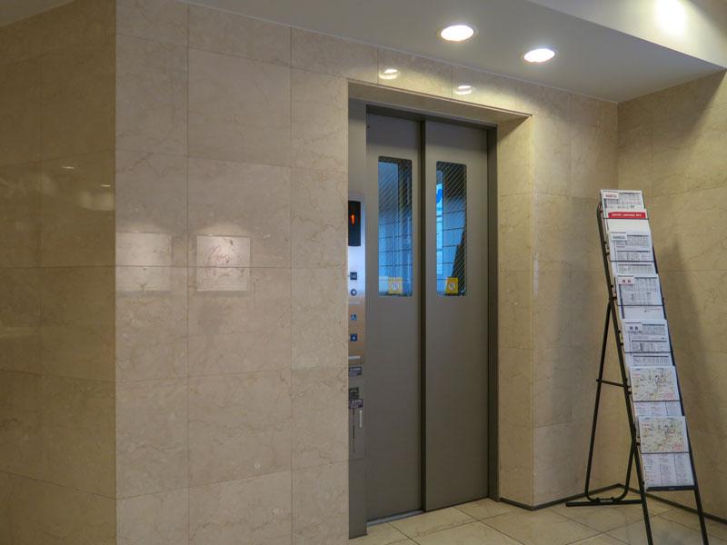高輪デュープレックスC'sのエレベーター